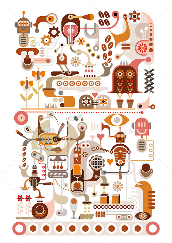 GraphicRiver Coffee Factory 9467633