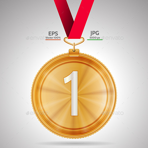 GraphicRiver First Place Medal 9467676