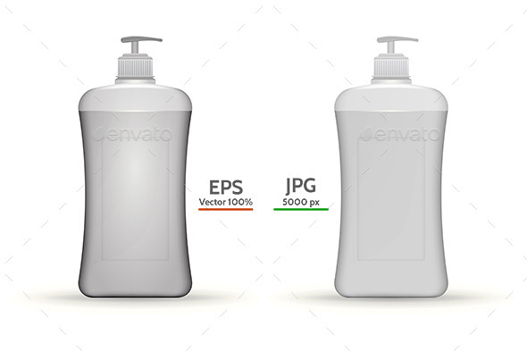 GraphicRiver Ddispenser Bottles Mock Up 9467836