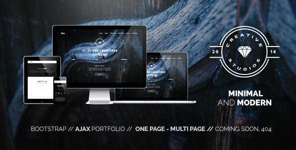ThemeForest Hero Minimal Multipurpose Portfolio 9467842