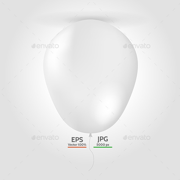 GraphicRiver Balloon Mock Up 9467845