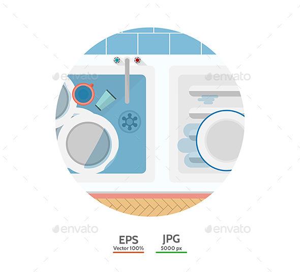 GraphicRiver Kitchen Sink 9467869