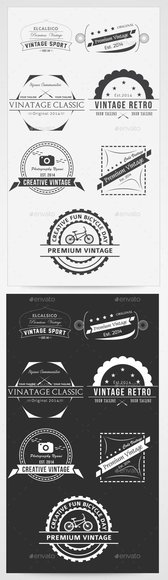 GraphicRiver Premium Vintage Vol I 2014 9468062