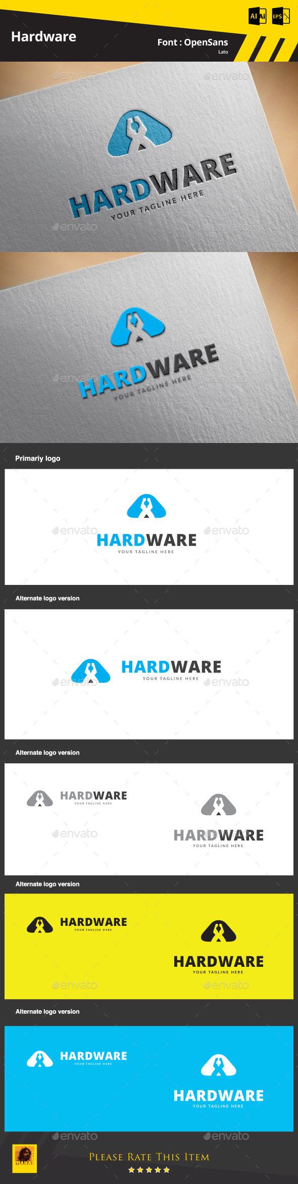 GraphicRiver Hardware Logo Template 9468122
