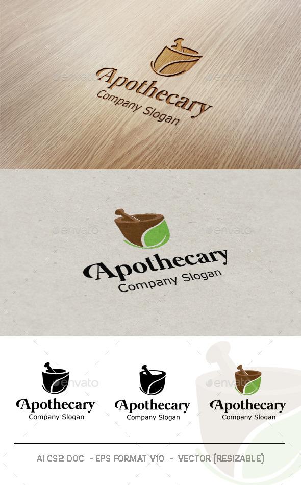 GraphicRiver Apothecary Logo 9468142