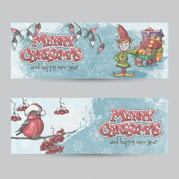 GraphicRiver Christmas Banners 9468239
