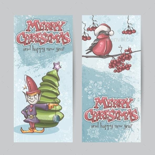 GraphicRiver Christmas Banners 9468243
