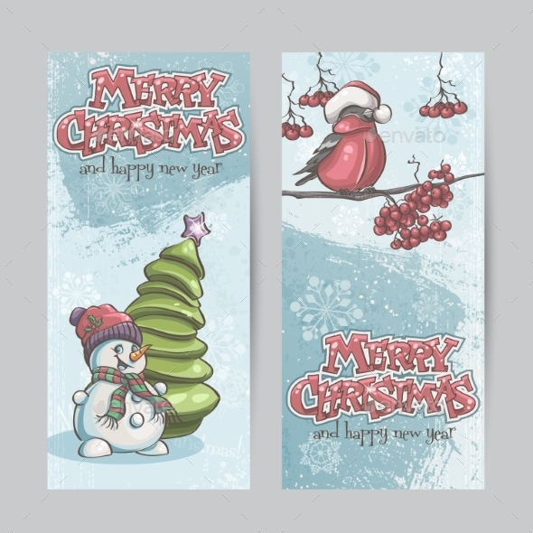 GraphicRiver Christmas Banners 9468245