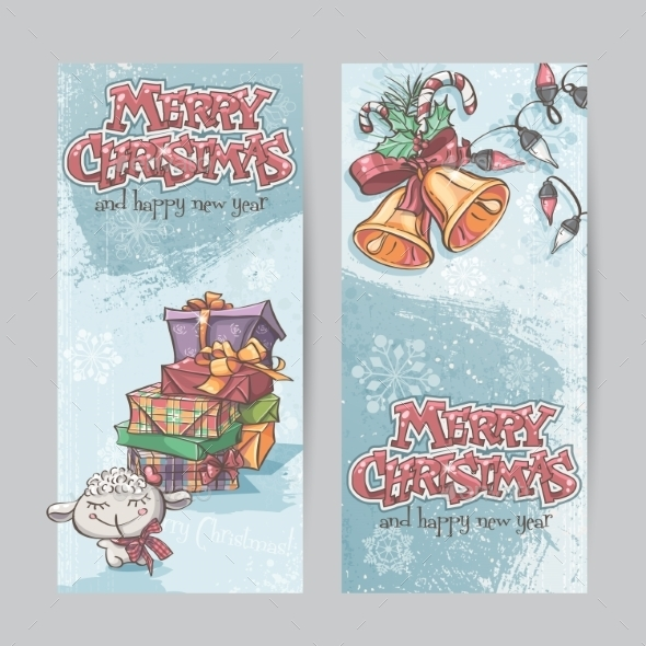 GraphicRiver Christmas Banners 9468278
