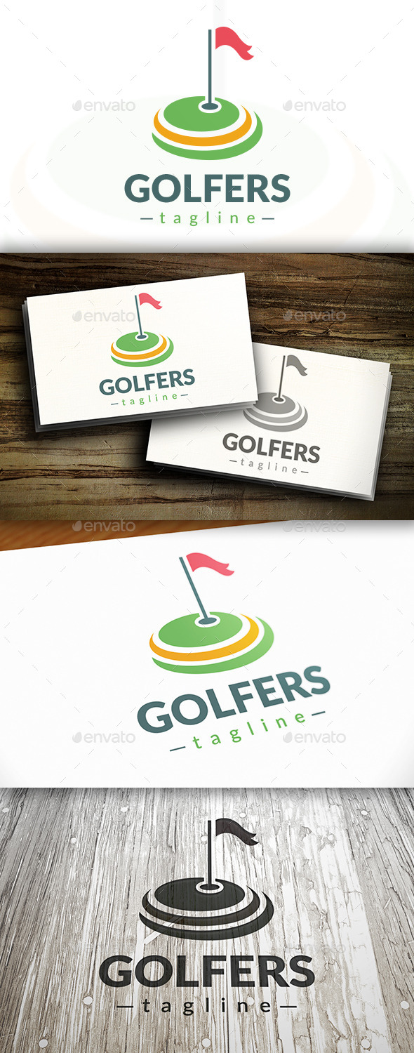 GraphicRiver Golf Logo 9468304