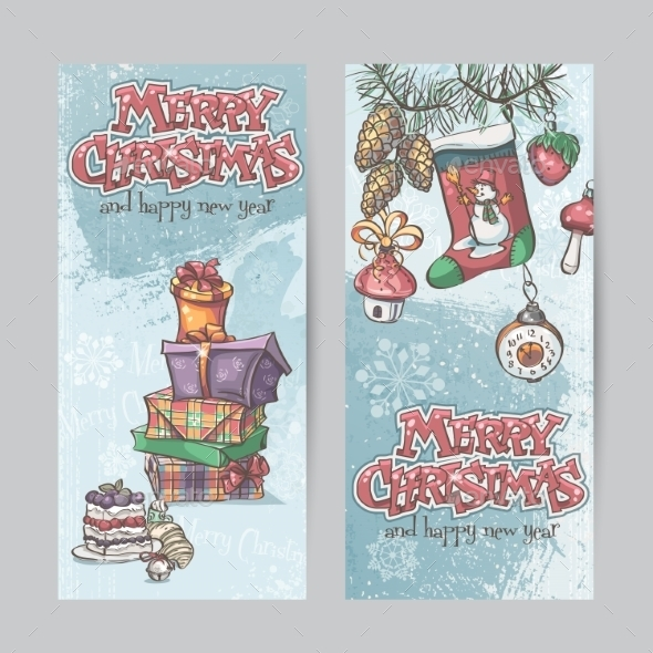 GraphicRiver Christmas Banners 9468361