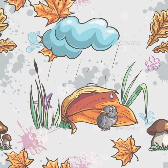 GraphicRiver Autumn Pattern 9468548