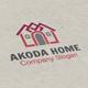 Akoda Home Logo - GraphicRiver Item for Sale