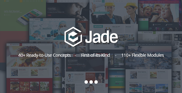 ThemeForest Jade Flexible Multi Purpose Responsive Theme 9333003