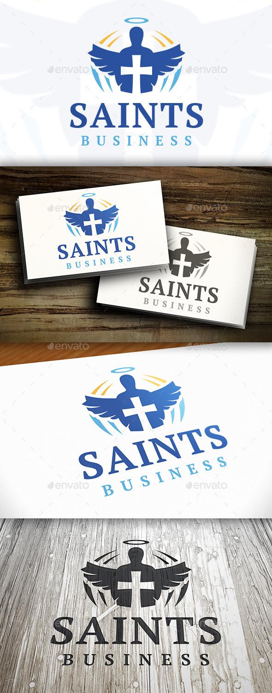 GraphicRiver Saint Logo 9469392