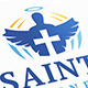 Saint Logo - GraphicRiver Item for Sale