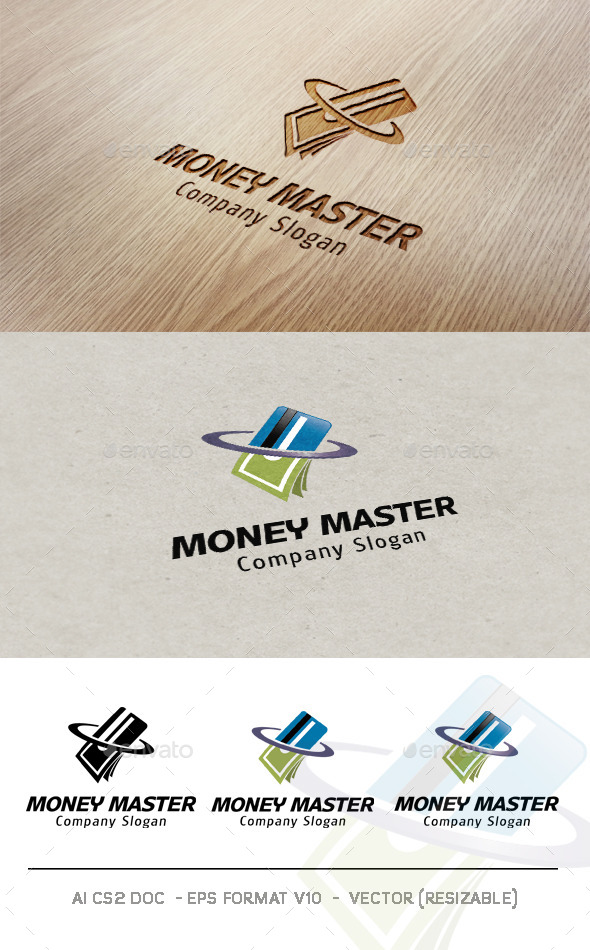 GraphicRiver Money Master Logo 9469423