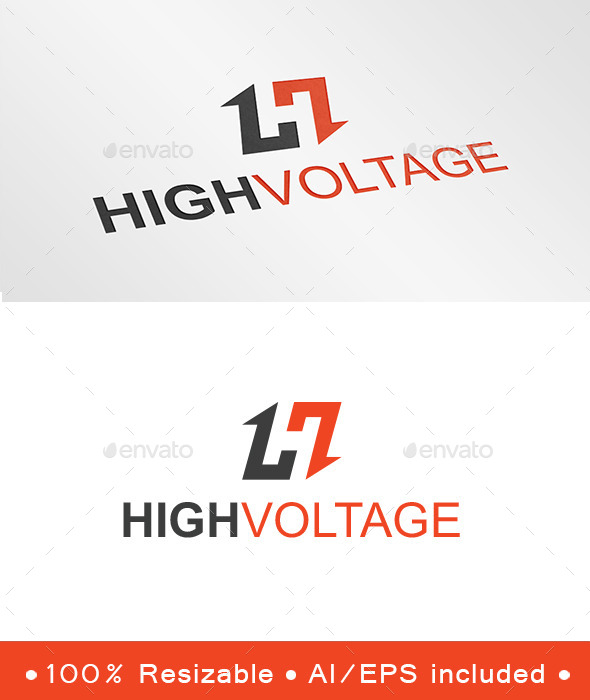GraphicRiver Letter H Arrow Logo 9469543
