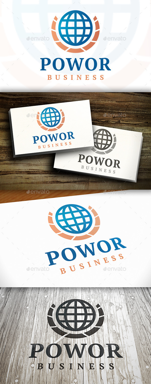 GraphicRiver World Power Logo 9469590