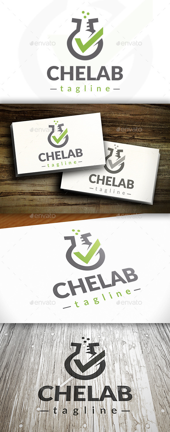 GraphicRiver Lab Check Logo 9469593