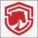 Horse Defense Shield Logo - GraphicRiver Item for Sale