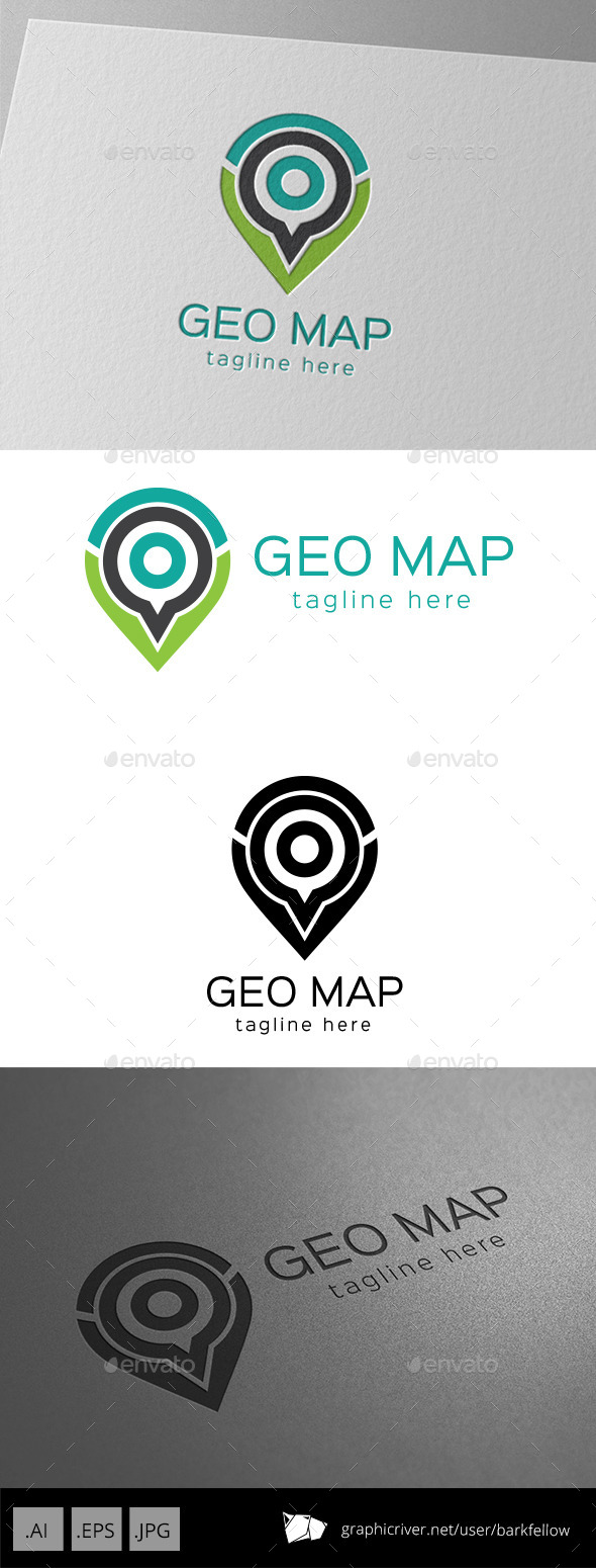 GraphicRiver Geo Map Logo 9469739