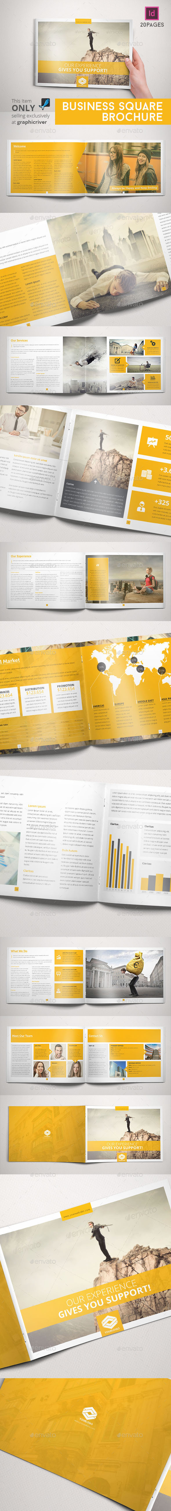 GraphicRiver Business Brochure Indesign Horizontal 9469780
