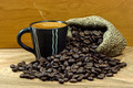Coffee and coffee bean - PhotoDune Item for Sale