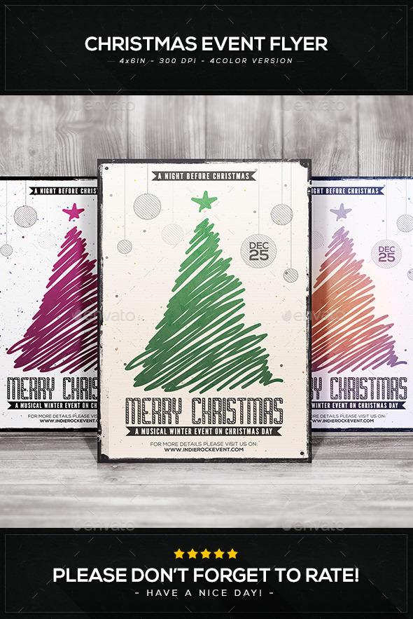 GraphicRiver Christmas Premium Flyer V.1 9438496