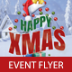 Happy Xmas Flyer PSD Template