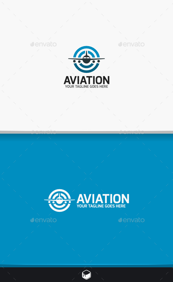 GraphicRiver Aviation Logo 9470502