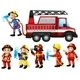 Firefighters - GraphicRiver Item for Sale