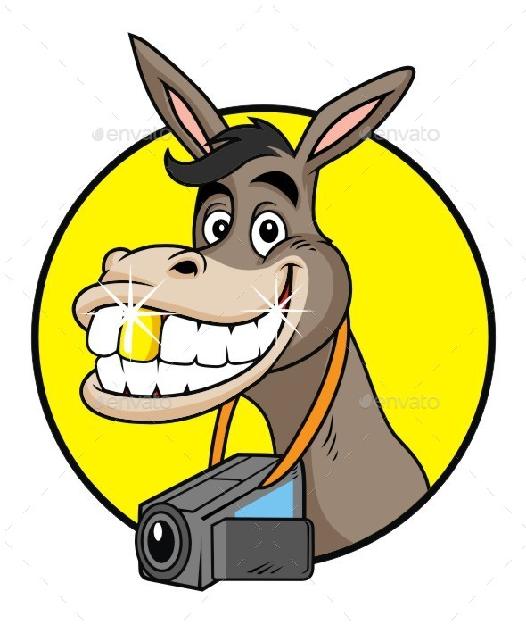 GraphicRiver Weird Donkey 9471417