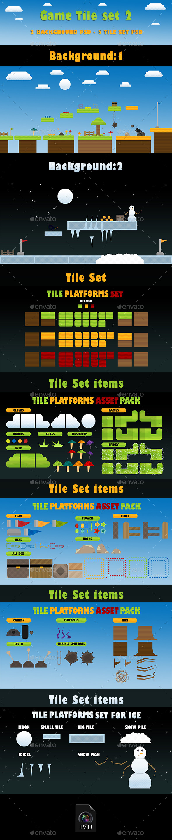 GraphicRiver Game Tile Set 02 9471434