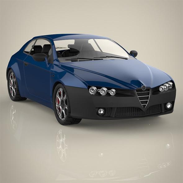 3DOcean Sport car 9471577