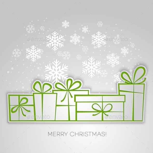 GraphicRiver Merry Christmas Card 9471663