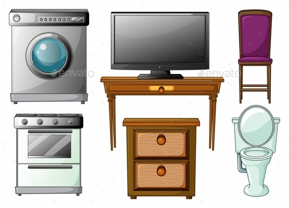 GraphicRiver Appliances and Furnitures 9471672