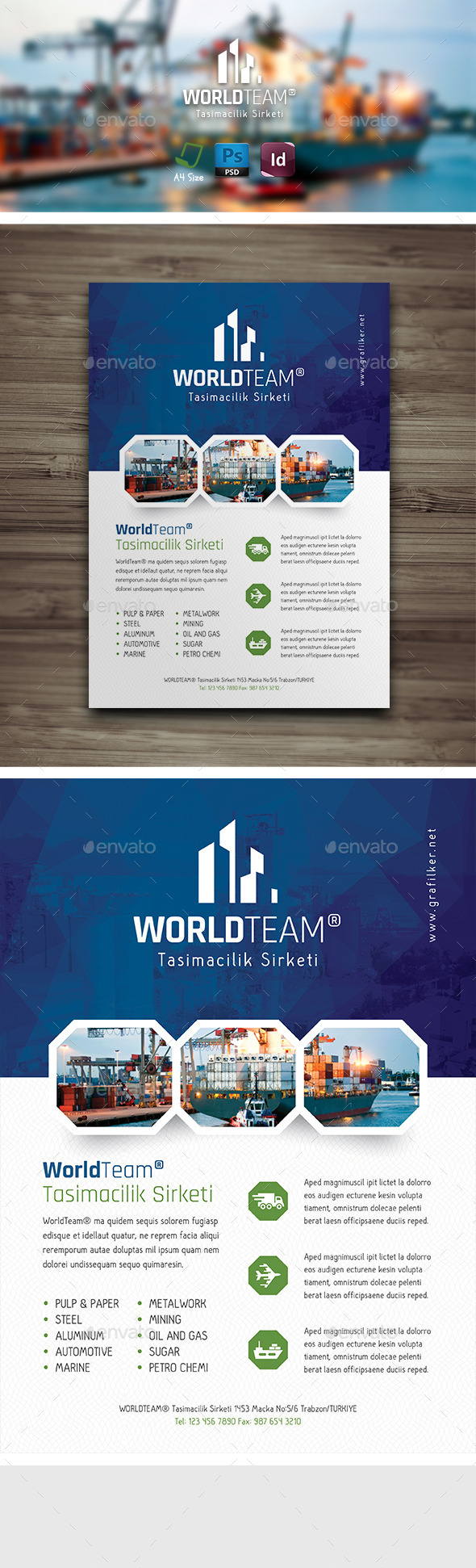 GraphicRiver International Flyer Templates 9471684