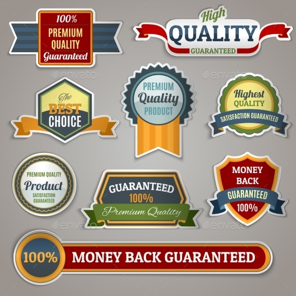 GraphicRiver Quality Labels Stickers 9471780
