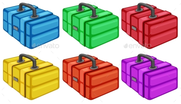 GraphicRiver Six Colorful Boxes 9471867
