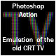 Old TV Emulation Action