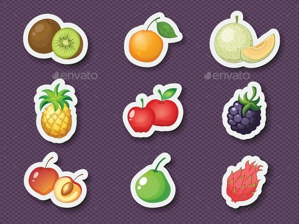 GraphicRiver Mixed Fruit 9472326