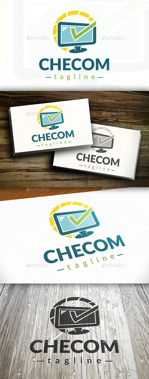 GraphicRiver Computer Check Logo 9472358