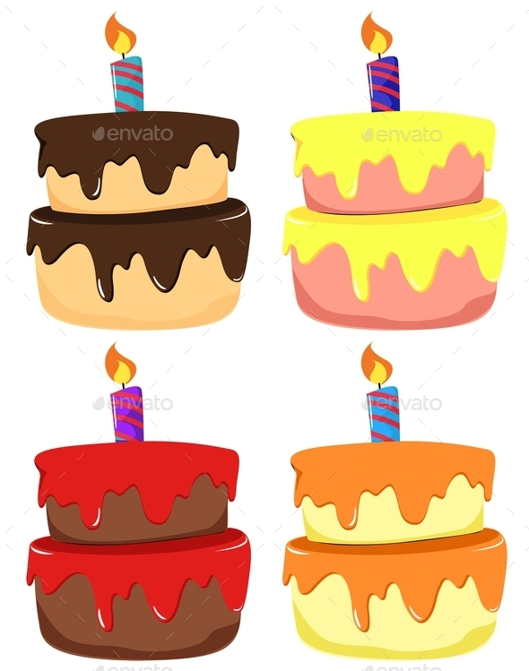 GraphicRiver Cakes 9472430