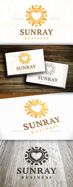 GraphicRiver Sun Love Logo 9472441