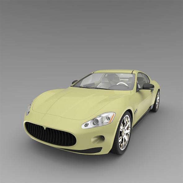 3DOcean Sport car 9472538