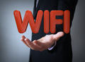 wifi over businessman - PhotoDune Item for Sale