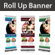 Beauty Saloon Rollup Banner - GraphicRiver Item for Sale