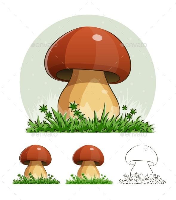 GraphicRiver Mushroom 9472588