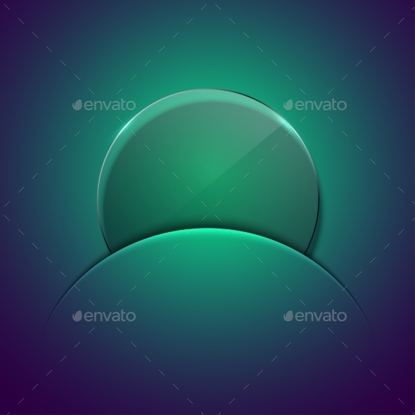 GraphicRiver Vector Modern Circle Glass Background 9472699